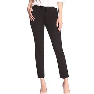 Banana Republic Black Sloan Pant 00